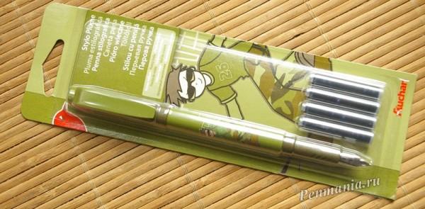 </p> <p>перьевая ручка </p> <p>Auchan