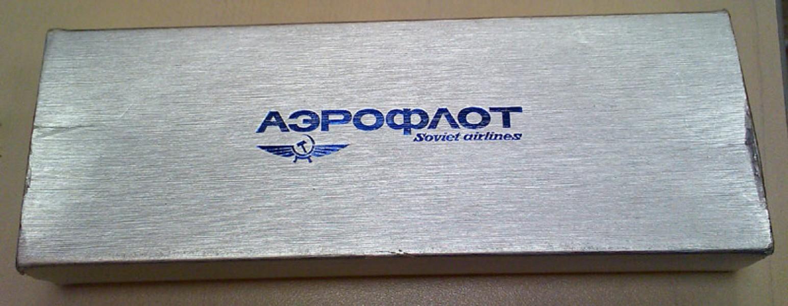 Перьевая ручка Platinum Urushi Bonito - для Аэрофлота (Советские авиалинии)